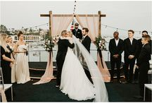 Wedding on a Yacht / Ideas and inspiration for yacht weddings and for hosting a wedding reception on a boat.