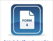 Safety Forms / Affordable compliance solutions - Our forms will ensure your recordkeeping documentation remains OSHA proof.