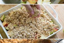 Apple crisp oatmeal