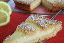 crostata con crema de ricota al limone