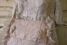 Daphne Nicole и Lynda Cade / Винтажные сумки, одежда, подушки Daphne Nicole и Lynda Cade