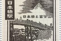 駅のスタンプ(判子)