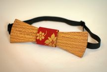 My hand made wooden bow tie / handmade by VotreVision