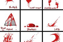 blood art