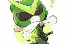 Mercy ~ Genji / i need healing