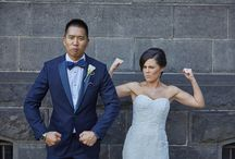 Wedding day fun times