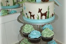baby shower cakes / by Stephanie Mahoney