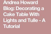 DIY decorative table
