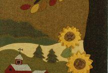 Wool applique patterns