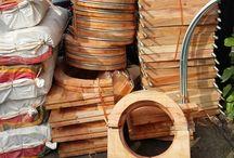 Wooden Block Pipa Chiller