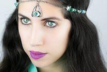 Geo-Mystic Jewelry By Cosmic Bloom / Cosmic Bloom is a Geo-Mystic Jewelry Design  By Alma Lzg  / by Kristy Lzg