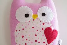 handmade owls and others / by Karen Janine