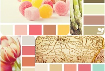 Color Palettes / I love these color combinations!