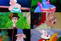 Framed Cartoon Characters