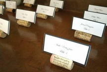 Escort Cards / Seating Ideas / Creative escort and seating cards as suggested by Whidbey Party Girls