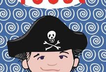 Thema piraat / by Wilma van Maris