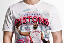 Detroit Pistons / Officially licensed NBA player graphic apparel for all of the Detroit Pistons top players.