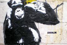 monkey / Graffiti