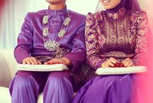 Beautiful songket