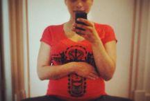 Eigen foto's zwangerschap / Eigen gemaakte foto's