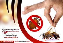 مكاحة حشرات بالرياض