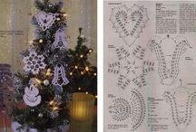 Haken voor kerst [Crochet for Christmas] {Crochet pour Noël}