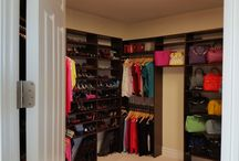 Custom Closets / From a tiny closet to full walk-in closets, we design and craft custom closet shelving and features to make your life easier and your home looking great.
