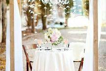 decoraçao casamento