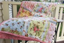 Trina Walker / Trina's passion for fabrics started while she was learning to sew at high school. She then followed up with an Associate Diploma in Custom Clothing, before finding her passion making patchwork quilts. Trina discovered how many beautiful fabrics are out there wanting to tell a story.  Each quilt starts with just one piece of fabric and the rest grows around it and there is a unique story behind every quilt.