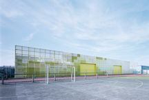 mesh / perforated metal panels / elevation