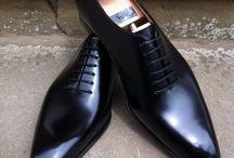 Zwarte schoenen Dennis