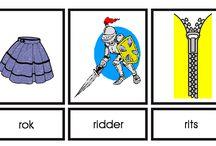 woordkaarten r