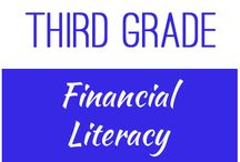 Third Grade: Financial Literacy / This board contains resources for Texas TEKS:  3.4C, 3.9A, 3.9B, 3.9C, 3.9D, 3.9E , 3.9F