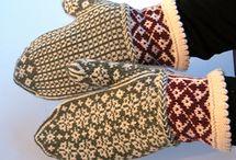 Votter, gloves strikk-knitting / Votter mønster