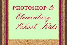 Teach Photoshop to kids