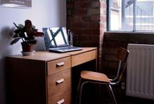 Inspirations for a small home office