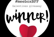 MeeBox 018 Galentines / January 2017 - We celebrate our BFFs with this pamper-fest of a MeeBox theme. GALENTINES!