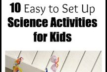 Messy Science / Science Experiments at Messy Play for young children