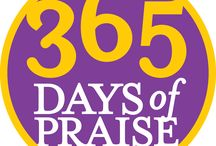 365 DAYS of PRAISE / www.debbietaylorwilliams.com Just click on a badge and you will be taken to a devotion about how God manifests that attribute!