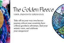 Fibergoodness inspiration  / For the golden fleece journey