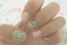Kath Kidston 'Vintage' nails
