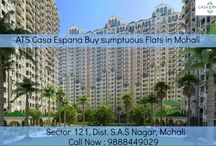 ATS Casa Espana Buy sumptuous Flats in Mohali / ATS #CasaEspana offers flats for sale in sector 121, #mohali, #Chandigarh area. for more information call at: 9888449029