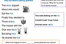 Classroom printables / Teaching resources