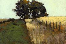 Art - Painting landscapes