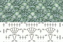 Crocheted Lace Pattern Diagrams