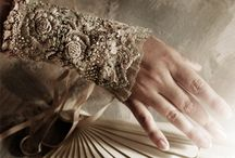 Delicate Linen and Lace