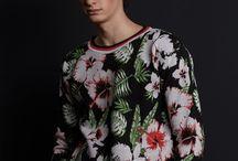 Men in Flowers ~ Merino Sweaters by CockerelPRAGUE