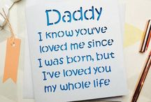 Gift ideas for Daddy