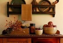 Primitives and Prim Decor / Prim, Primitive Farmhouse Decor / by Sunny Simple Life - simple living everyday