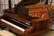 "Art Case Bosendorfer Grand Piano / Art Case Bosendorfer Grand Piano Model 170 5'8"" Showroom Condition, Rare Exotic Amboyna Wood Recent Total Rebuild/Refinish Made in 1908 $49,500 - See more at: http://sonnyspianotv.com/piano-gallery#sthash.plPLDlkv.dpuf"